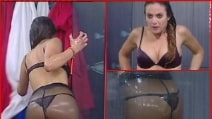 La doccia hot di Greta al Grande Fratello