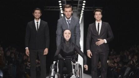 I disabili sfilano in passerella a Mosca