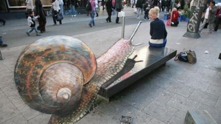Julian Beever, l'artista di strada che crea illusioni 3D
