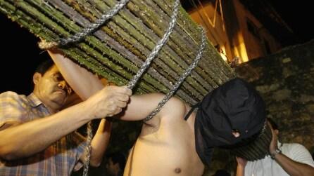 La Settimana Santa di Taxco tra flagellazioni e suppliche