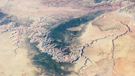 Il fascino del Grand Canyon visto dallo Spazio (e non solo)