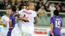 Le immagini di Fiorentina-Roma