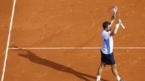 Le immagini di Federer-Wawrinka
