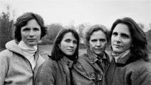 Quattro sorelle fotografate per 36 anni