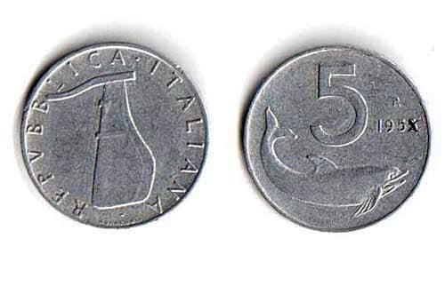 """Questa moneta, se conservata in maniera ottimale può valere dai 50/60 euro fino a 2000 euro per il rarissimo """"fior di conio""""."""