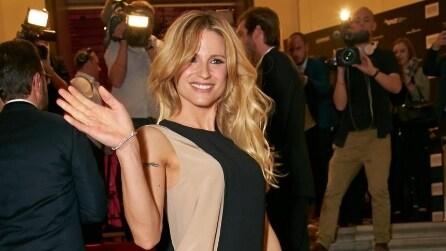 """Il look di Michelle Hunziker ai """"Vienna Awards for Fashion & Lifestyle"""""""