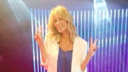 Il look di Alessia Marcuzzi per la puntata 9 del GF13