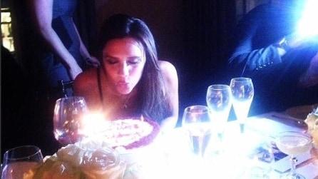 Il party per i 40 anni di Victoria Beckham