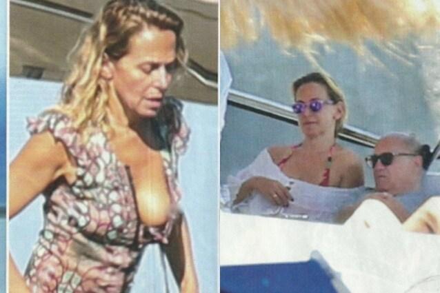 Complice la presenza costante dei paparazzi, Barbara D'Urso è stata protagonista di un fuori di seno. La presentatrice si trovava su uno yacht a Capri. A bordo anche Danny DeVito.