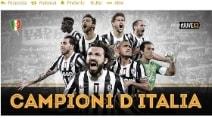 Juventus Campione d'Italia: i tweet della festa
