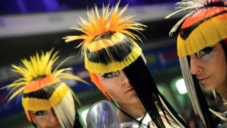 Capelli: le creazioni degli hair stylist all'OMC Hair World Cup
