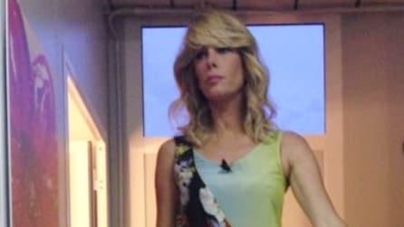 Il look di Alessia Marcuzzi per l'11esima puntata del Grande Fratello 13