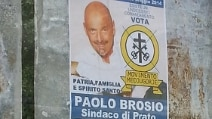 Prato, Paolo Brosio candidato sindaco (ma è uno scherzo)