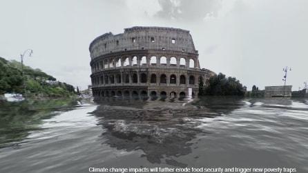 Da Roma a NYC, le città del mondo allagate