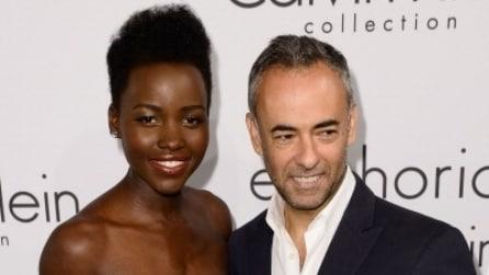 Il look di Lupita Nyong'o al party di Calvin Klein a Cannes