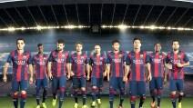 Barcellona, nuova maglia stagione 2014/2015