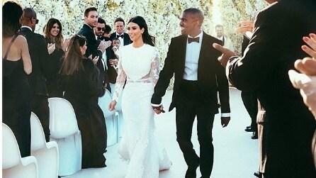 Il matrimonio di Kim Kardashian e Kanye West