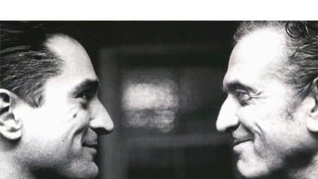 Robert De Niro e suo padre, Robert De Niro Senior