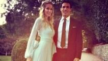 Il Matrimonio di Bernardo Corradi e Elena Santarelli visto dai social