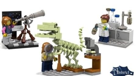 Arrivano le scienziate Lego