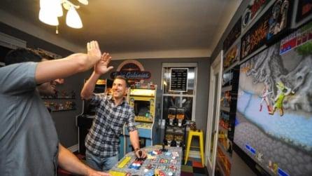 Un ragazzo di Manhattan ha speso 32.000 dollari per trasformare la sua stanza in una sala giochi