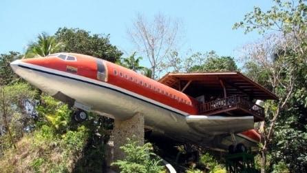 727 Fuselage Home: l'hotel di lusso ricavato da un Boeing 727 del 1965