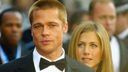 Le foto di Brad Pitt e Jennifer Aniston