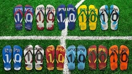 Abiti e gli accessori dedicati ai Mondiali 2014 del Brasile