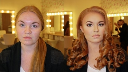 La potenza del make up: foto del prima e dopo a confronto