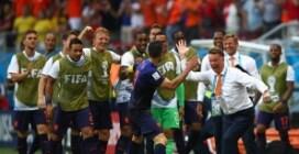 Le immagini di Spagna-Olanda, Mondiale in Brasile 2014