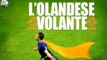 Robin van Persie, ironia in Rete sull'Olandese Volante che ha schiantato la Spagna