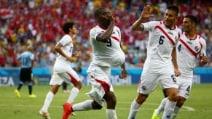 Uruguay-Costarica, le immagini delle avversarie dell'Italia al Mondiale