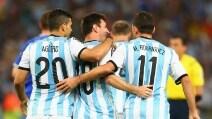 Le immagini di Argentina-Bosnia