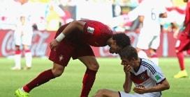 Le immagini di Germania-Portogallo