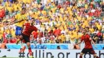 Le immagini di Brasile-Messico