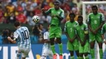 Mondiali, fantastico gol di Messi su punizione