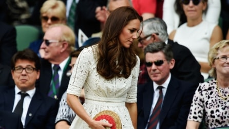 Kate Middleton ricicla l'abito a Wimbledon