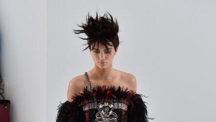 La trasformazione di Kendall Jenner in passerella