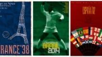 Dall'Uruguay al Brasile, tutti i poster dedicati ai Mondiali di calcio