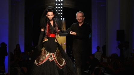 Conchita Wurst sposa dark per Jean Paul Gaultier