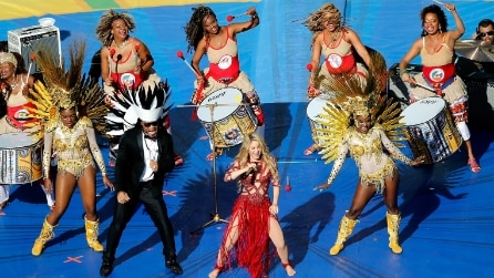 "Mondiali 2014: Shakira chiude con ""La La La (Brazil 2014)"""