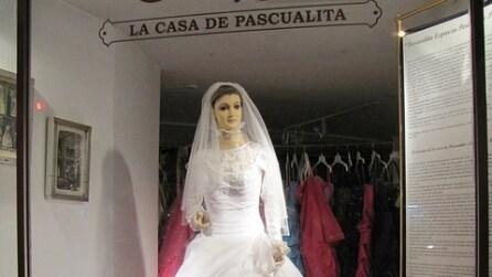 """La Pasqualita il manichino della """"sposa cadavere"""""""