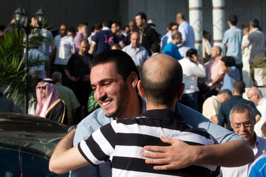 Madrid, scambio di auguri nella moschea e centro di cultura islamica