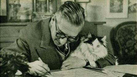 Le foto dei più celebri scrittori a lavoro
