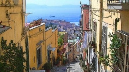 Le scale più belle di Napoli