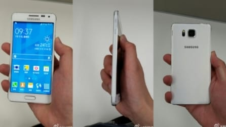 Samsung Galaxy Alfa - Le immagini non ufficiali