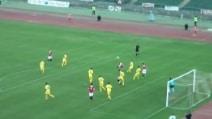 Bari-Savona 2-1, il super gol di De Luca in Coppa Italia