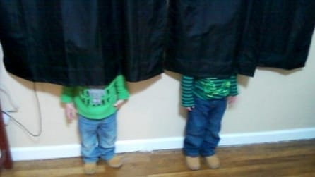 I bambini sono i maghi del nascondino