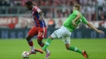 Bundesliga, Bayern Monaco-Wolfsburg 2-1