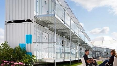 Un albergo portatile per vedere Russia 2018